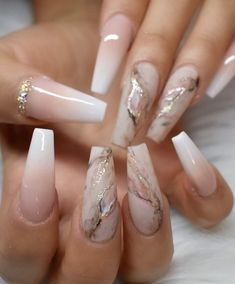 Today we have 41 of the most amazing nails you have ever witnessed! All of these nails will literally blow your mind! Well, hopefully not literally but figuratively, these nails will drive you insane! Summer Acrylic Nails, Best Acrylic Nails, Acrylic Nail Art, Acrylic Nails Coffin Ombre, Spring Nails, Best Nail Art, Neutral Acrylic Nails, Acrylic Nail Designs For Summer, Ombre French Nails