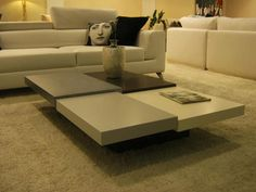 contemporary coffee table in levels.available in all dimensions and color de craftworksfurniture en Etsy https://www.etsy.com/es/listing/249346618/contemporary-coffee-table-in
