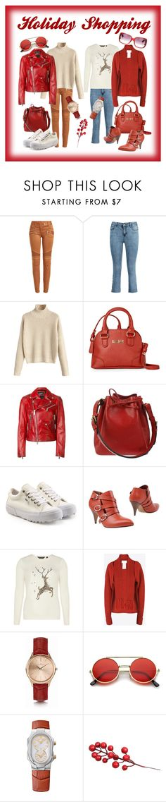 """Holiday Shopping"" by lora-86 on Polyvore featuring Balmain, Kenneth Cole Reaction, Dsquared2, Louis Vuitton, Vans, Kallisté, Dorothy Perkins, Maison Margiela, Kennett and ZeroUV"