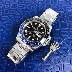 """Who is Invicta Watch Group? Meaning """"invincible"""" in Latin, Invicta watches were really made as early as Creator Raphael Picard wanted to bring customers high quality Swiss watches… Rolex Gmt Batman, Cool Watches, Rolex Watches, Casual Watches, Rolex Explorer, Watches Photography, Rolex Day Date, Rolex Gmt Master, Swiss Army Watches"""
