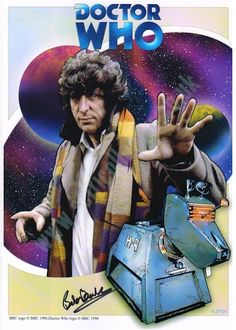 Dr Who Art | Doctor Who 'K9' A4 Art Print signed Bob Baker - Scificollector ...