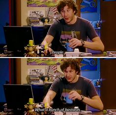 The most accurate summary of humanity ever: | 22 Times The IT Crowd Was Actually The Funniest TV Show Ever