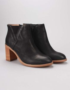 Sneaky Steve Leighton Heel Ankle Boot Black