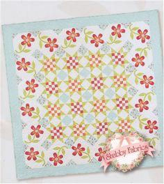 Posy Polka Quilt Pattern