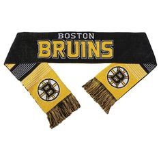 Forever Collectibles - NHL Reversible Split Logo Scarf Boston Bruins