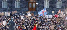 Piedra OnLine: Islandia: Los 'papeles de Panamá' causan las prote...