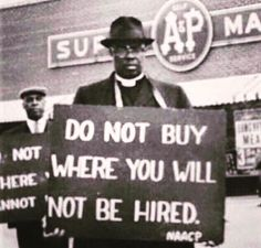 This is true today. They may hire you, but that doesn't mean they actually care about you. It is just illegal to say no, because you're black.