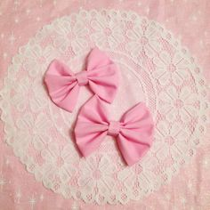 Perfect Pink Bows