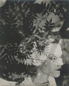 Annabella, a double exposure photo // Joseph Breitenbach