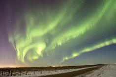 Auroras - 5 km East of Saskatoon, SK, Canada