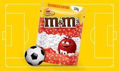 M&M's Austria - EK 2016 - RED & YELLOW unterstützen vor Allem die rot-weiß-rot Edition