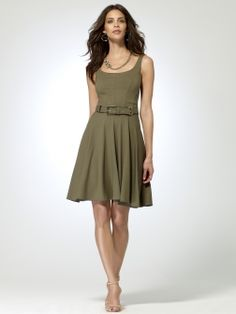 Corset Flounce Dress