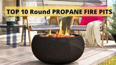 Are you looking for round propane fire pits, but you are confused about which one is the portable round fire pit that completes all your needs, then you are here at the right place. We have reviewed top propane fire pits, but it's a bit confusing to find out the round one over there. This is why we decided to give a separate overview of the round fire pit. Round Propane Fire Pit, Portable Propane Fire Pit, Round Fire Pit, Fire Pit Table, Fire Glass, Gas Fires, Fire Pits, Confused, Separate