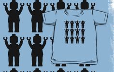 """""""12 x MINIFIGS by Customize My Minifig"""" Kids Clothes by ChilleeW 