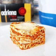 Fitness lasagne - zdravý recept Bajola