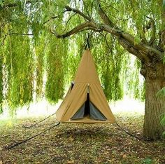 Ultimate tree tent, for people who hate to sleep on the ground but love to camp
