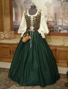 Scottish renaissance dress.