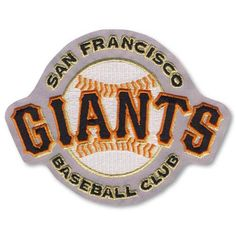 San Francisco Giants Away Jersey Sleeve MLB Baseball Team Logo Patch