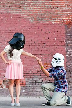 These Star Wars superfans: | 23 Gloriously Geeky Engagements