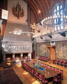 Biltmore Mansion Banquet Hall - Biltmore Estate is one of my favorite places to visit!
