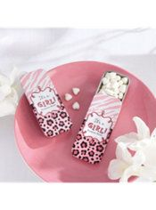 Pink Safari Mint Tin with Candy