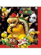 Mario Bros Luncheon Napkin