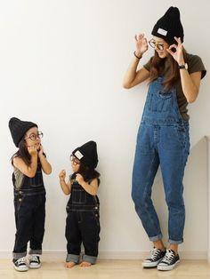 petit mainのサロペット・オーバーオール「ベーシックデニムサロペット」を使ったこはママのコーディネートです。WEARはモデル・俳優・ショップスタッフなどの着こなしをチェックできるファッションコーディネートサイトです。