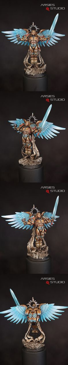 Sanguinor NMM. The armour is great but the wings are a bit off.