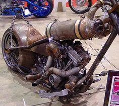Sweet ass franken bike