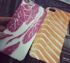 Fashion creative beef & fish Case Cover for Apple iPhone 5s 5 SE 6 6S 6 Plus 6S Plus LJ160901-002