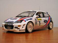 Tamiya Ford Focus RS WRC1 1/24