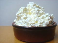 Home-made cottage cheese
