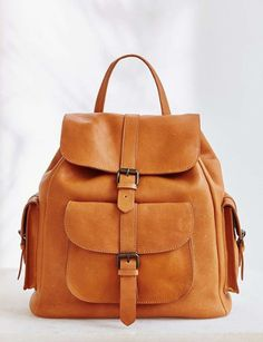 Leather pocket packpack | BDG