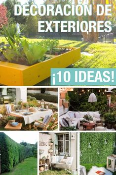 Las 36 Mejores Imágenes De Ideas Para La Terraza O El Jardín