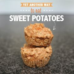 Sweet potatoes are packed with stuff that's good for you and your kiddies. They are also amazingly versatile. Here's a recipe for tasty sweet potato muffins!