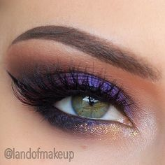 loving the purple with hints of gold