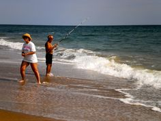 Beginner 39 s guide to pier fishing trips home and lakes for Outer banks surf fishing tips
