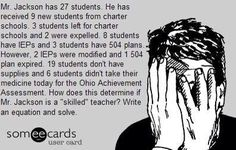 Oh my gosh!!! Love the one about the student's reading level. Sad and true!