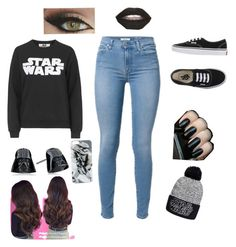 """""""Star Wars"""" by averyloveskittens ❤ liked on Polyvore featuring Topshop, Vans and Episode"""