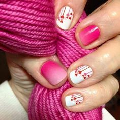Jamberry Nails - Kiss Me Ombre and Melt My Heart. www.facebook.com/amylynne.jamberrynails