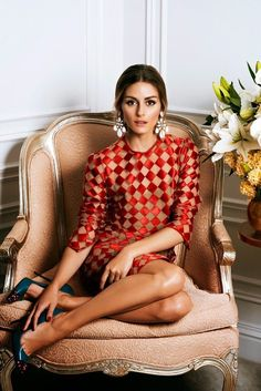 whitenoten: Olivia Palermo for Hello! Fashion Source: fierceandloveable Olivia Palermo for Hello! Estilo Olivia Palermo, Look Olivia Palermo, Olivia Palermo Lookbook, Fashion Mode, Look Fashion, Womens Fashion, Milan Fashion, Fashion Edgy, Fall Fashion
