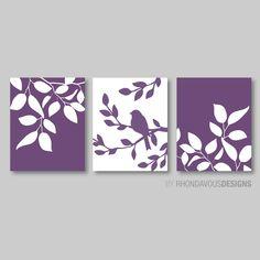 Master Bedroom Art Print Purple Bedroom by bedroom purple Master Bedroom Art Print - Purple Bedroom Decor - Bath Art - Bath Decor - Bird Bath Decor - Bird Tree Bedroom Art Print - Purple Bedroom Canvas, Canvas Wall Decor, Diy Canvas Art, Bedroom Art, Diy Wall Art, Diy Art, Master Bedroom, Tree Bedroom, 3 Canvas Painting Ideas