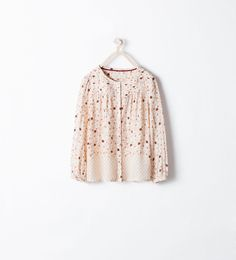 Image 1 of PRINTED SHIRT WITH BIB FRONT from Zara