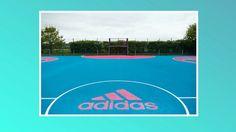 London MUGA Pitch Adidas Design