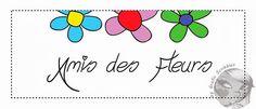 Etichetta cartacea per Amis de Fleurs | Grafic Scribbles