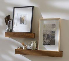 Rustic Wood Ledges   Pottery Barn   $69 – $149
