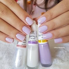 Unhas delicadas, unhas inglesinhas, cabelo e unhas, unhas claras, unhas decoradas delicadas Gorgeous Nails, Love Nails, How To Do Nails, Pretty Nails, Nail Manicure, Manicure And Pedicure, Gel Nails, Acrylic Nails, Vacation Nails