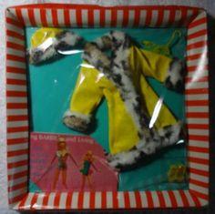 Barbie BOX Lot CLOTHES Great Coat #1459 - MINT Complete NRFB MIB MIP MOC NRFP