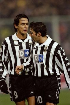 Inzaghi + Alessandro Del Piero. The reason I started watch football