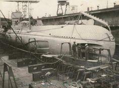 Constanta - Submarine - Delfinul sau Rechinul - 1931